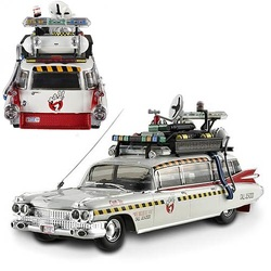 Ghostbusters 2 Ecto-1A Hot Wheels Elite 1/43 Scale Vehicle