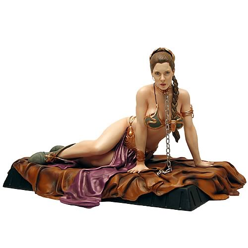 Return of the Jedi: Princess Leia as Jabba's Slave 1/6th Scale Statue (Carrie Fisher)