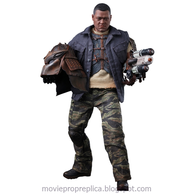 Predators: Noland 1/6th Scale Figure (Laurence Fishburne)