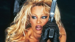 Barb Wire stars Pamela Anderson in the title role. (1996)