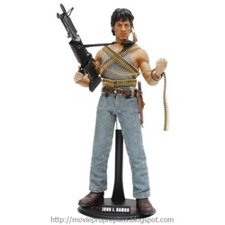 Rambo: First Blood: John J. Rambo - First Blood 1/6th Scale Poseable Model Kit (Sylvester Stallone)