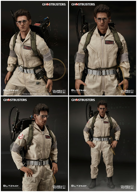 Ghostbusters 1984: Egon Spengler 1/6th Scale Action Figure (Harold Ramis)