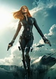 Scarlett Johansson as Black Widow - Captain America: The Winter Soldier