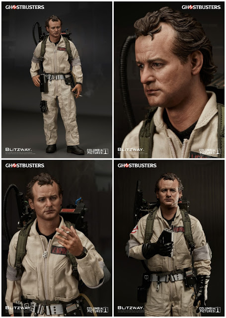 Ghostbusters 1984: Peter Venkman 1/6th Scale Action Figure (Bill Murray)