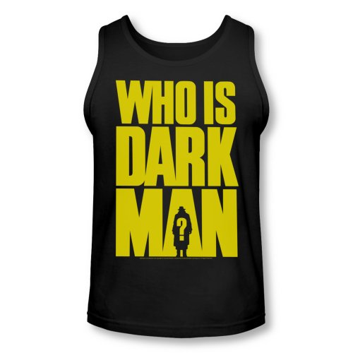 Darkman Sci-Fi Superhero Action Movie Who Is Darkman Adult Tank Top Shirt
