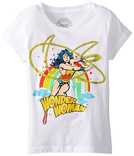DC Comics Big Girls' Wonder Woman Lasso T-Shirt
