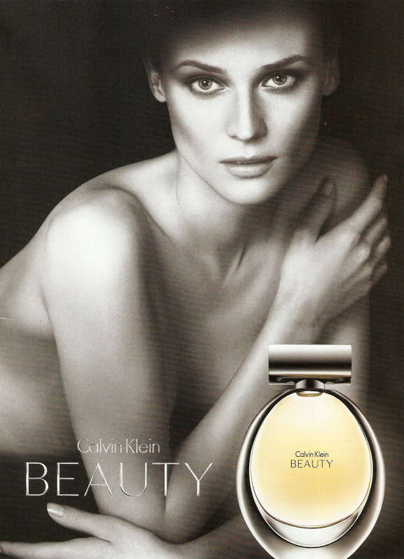 Diane Kruger for Beauty Perfume by Calvin Klein