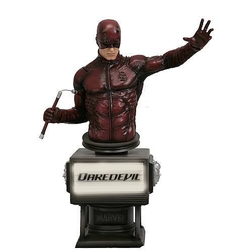 Daredevil Movie Fine Art Bust (Ben Affleck)