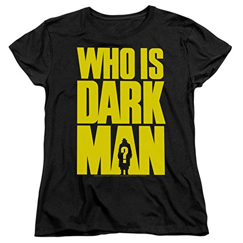 Darkman Who Is Darkman Short Sleeve Womens Tee Shirt