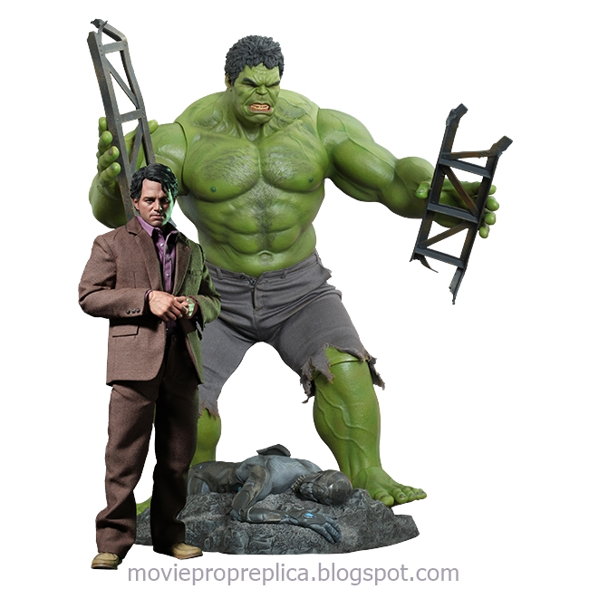 The Avengers: Bruce Banner and Hulk 1/6th Scale Figure Set (Mark Ruffalo)