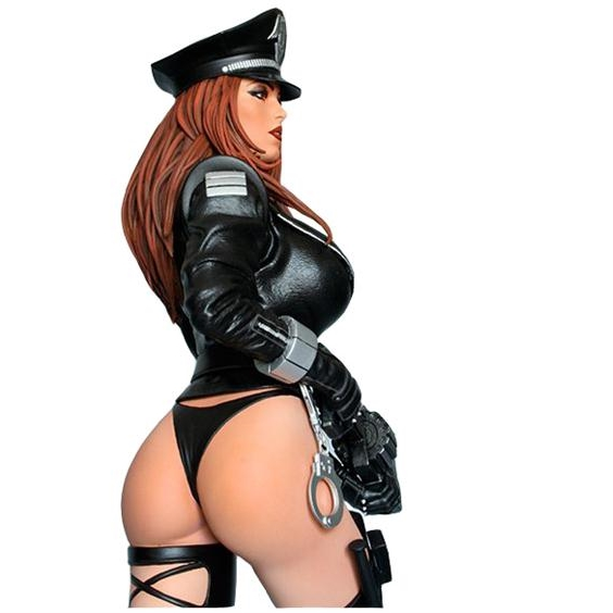 Cybercop 1/4th Scale Statue