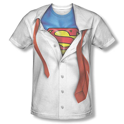 Superman Men's I Am Sublimation Print Polyester T-Shirt