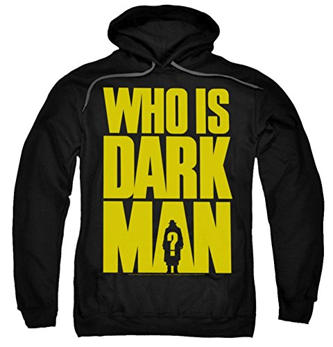 Darkman Who Is DK Pull Over Hoodie