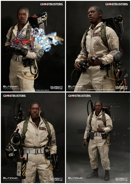 Ghostbusters 1984: Winston Zeddemore 1/6th Scale Action Figure (Ernie Hudson)
