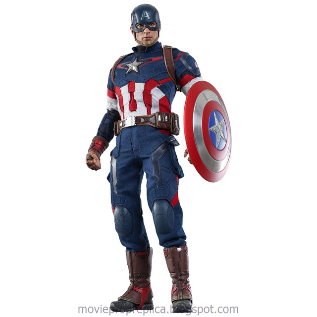 Avengers: Age of Ultron: Captain America 1/6th Scale Figure (Chris Evans)