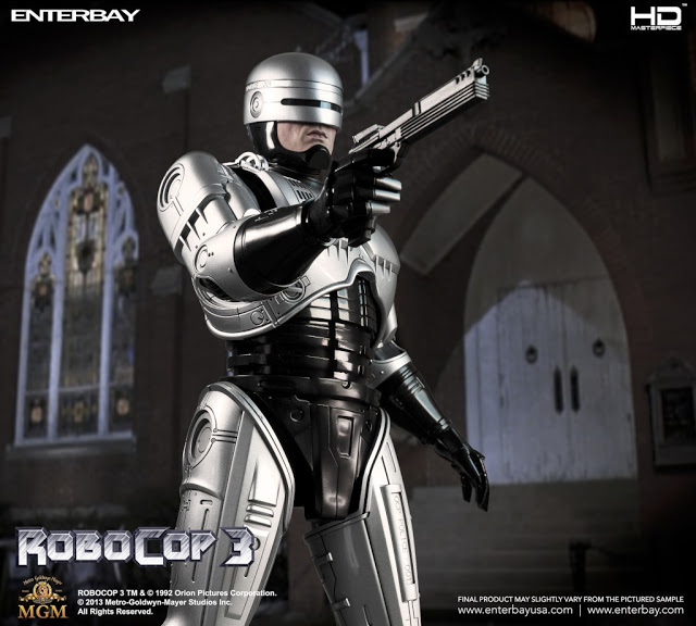 RoboCop 3: RoboCop 1/4th Scale Figure Set (Robert John Burke)