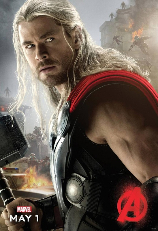 Chris Hemsworth as Thor: The Avengers