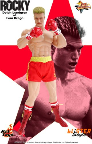 Rocky: Dolph Lundgren as Ivan Drago Deluxe 12 Inch Action Figure