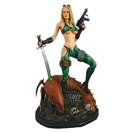 Alien Marine Girl 1/4th Scale Statue