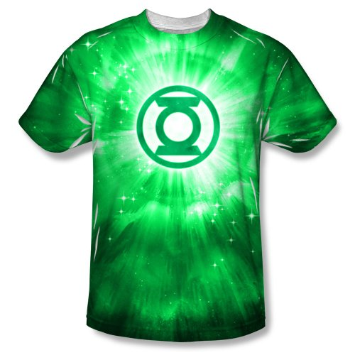 The Green Lantern Green Energy Adult Sublimated T-Shirt