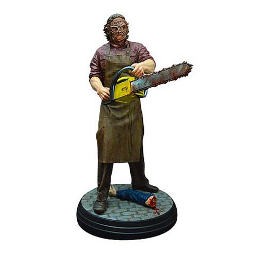 Texas Chainsaw 3D Leatherface 1/4 Scale Statue