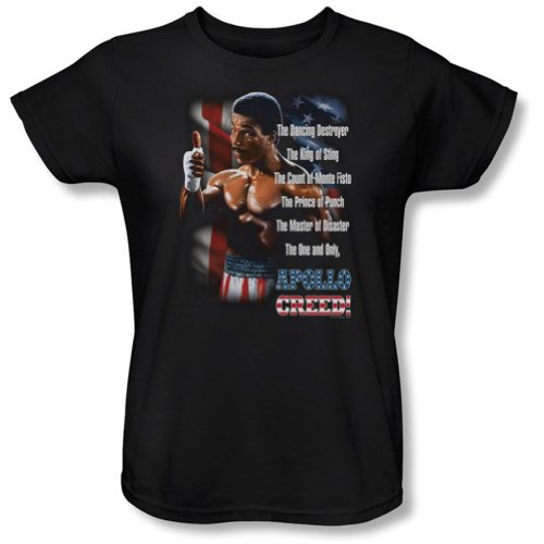 Rocky II MGM Movie The One And Only Women's T-Shirt