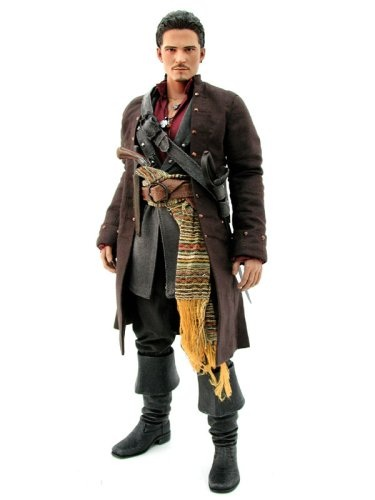 Pirates of the Caribbean: At World's End: Will Turner 1/6th Scale Figure (Orlando Bloom)
