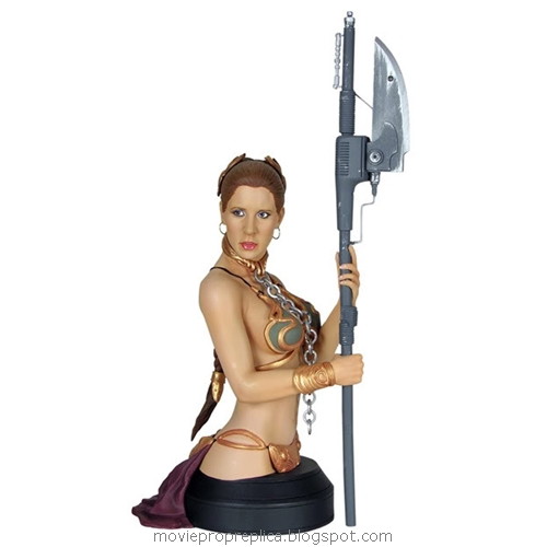 Star Wars: Return of the Jedi: Slave Leia Mini Bust (Carrie Fisher)