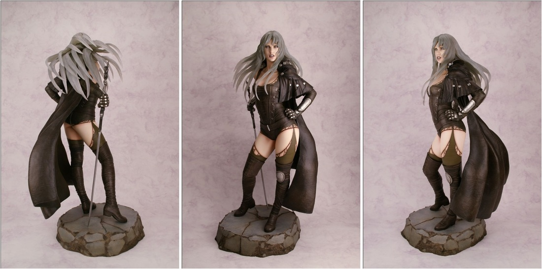 Luz Malefic by Luis Royo 1/4th Scale Resin Statue