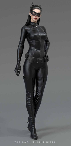 Anne Hathaway as Selina Kyle / Sexy Catwoman
