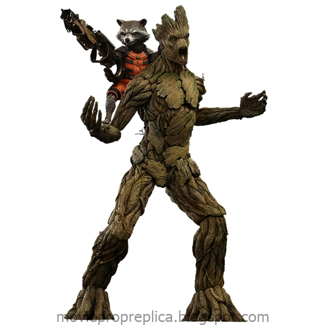 Guardians of the Galaxy: Rocket Raccoon and Groot 1/6th Scale Figure