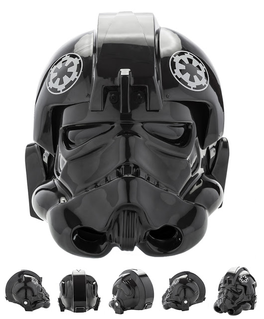 Star Wars: Episode IV - A New Hope: TIE Fighter Pilot Helmet Prop Replica