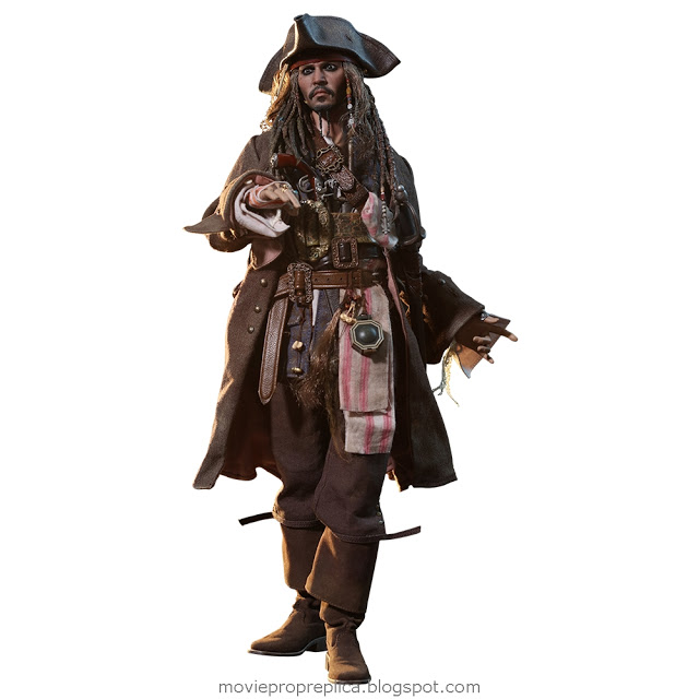 Pirates of the Caribbean: Dead Men Tell No Tales: Jack Sparrow 1/6th Scale Figure (Johnny Depp)