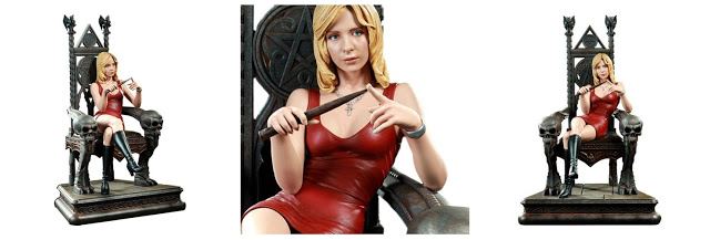 Throne of the Slayer - Buffy Summers Maquette (Sarah Michelle Gellar)