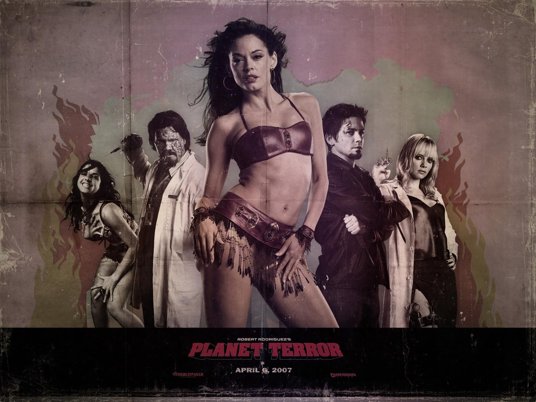 Grindhouse Planet Terror Death Proof Grindhouse Planet Terror And