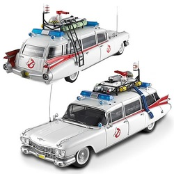 Ghostbusters Ecto-1 Hot Wheels Elite 1/18 Scale Vehicle