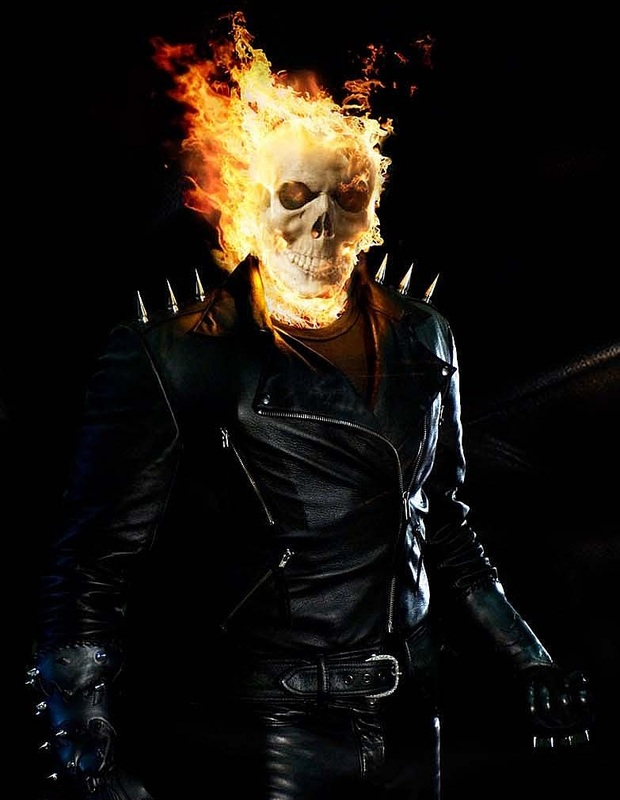 Nicolas Cage as John ″Johnny″ Blaze: Ghost Rider