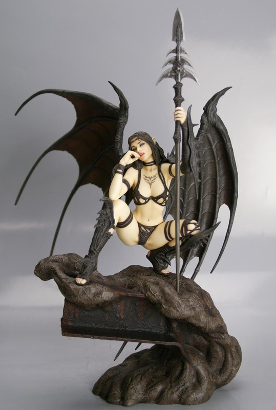 Black Tinkerbell by Luis Royo Statue