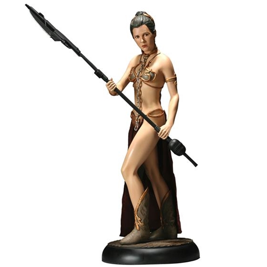 Star Wars: Return of the Jedi: Slave Leia Premium Format Figure - 1/4th Scale Statue (Carrie Fisher)