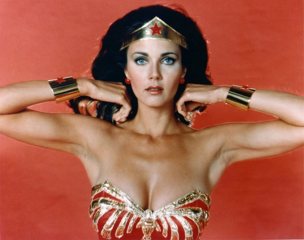 celebrities movies and games lynda carter as wonder woman