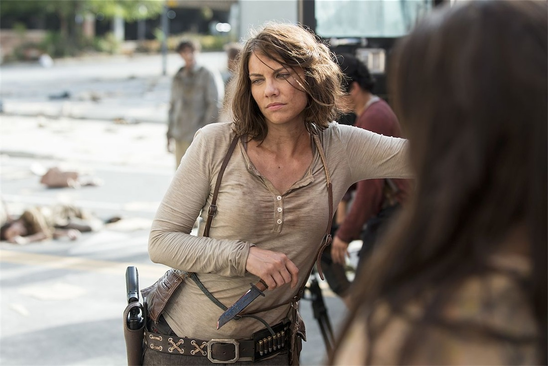 Lauren Cohan as Maggie Greene: The Walking Dead