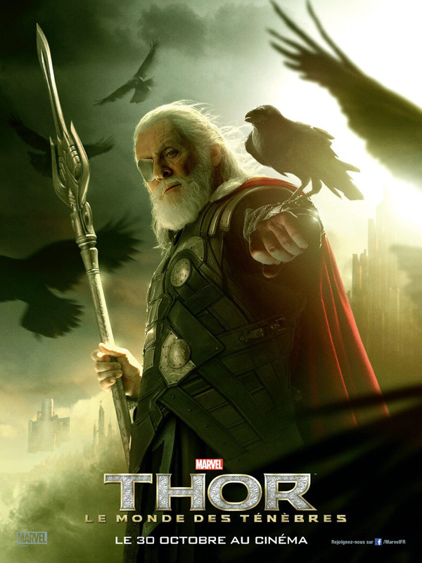 Anthony Hopkins as Odin: Thor