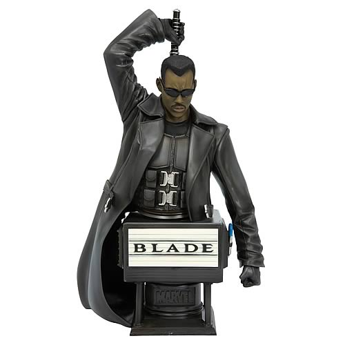 Blade Movie Fine Art Bust (Wesley Snipes)