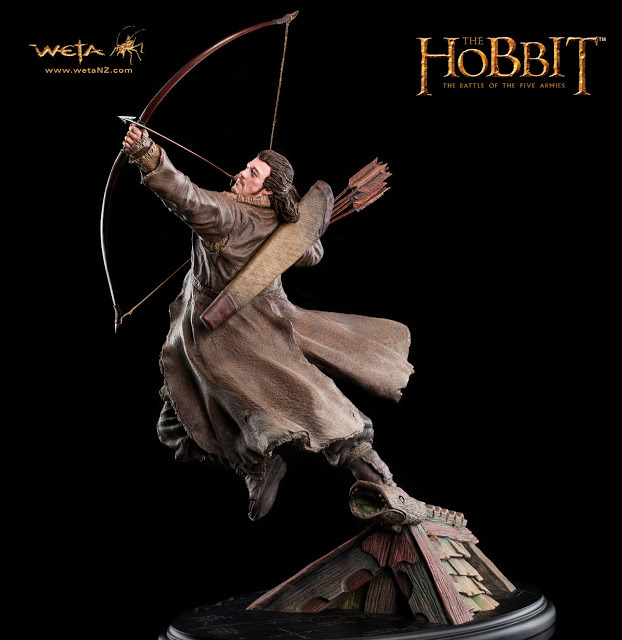 The Hobbit: The Battle of the Five Armies - Bard the Bowman Statue (Luke Evans)