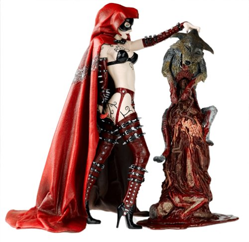 Twisted Fairy Tales Action Figure Red Riding Hood