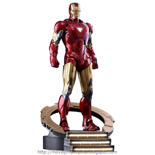 The Avengers: Iron Man Mark VI 1/6th Scale Figure (Robert Downey Jr.)