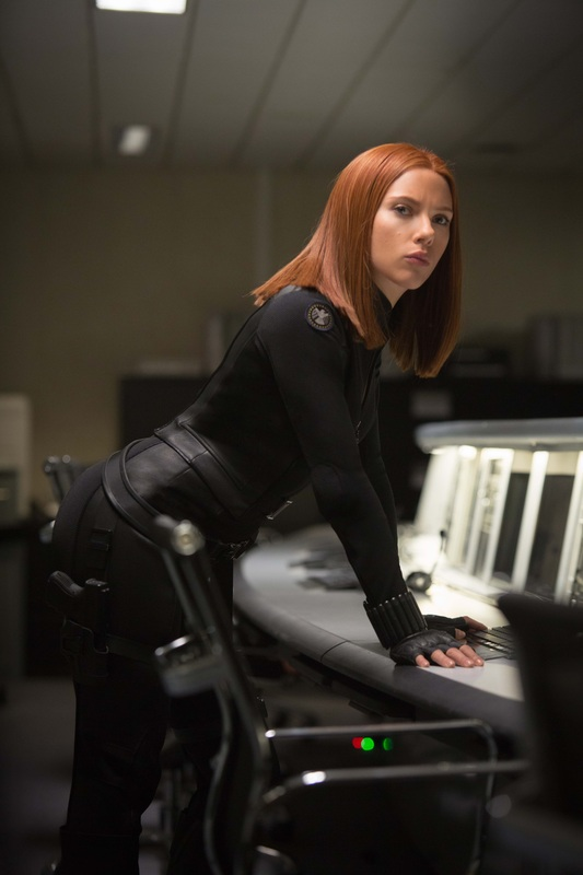 scarlett johansson as black widow captain america the