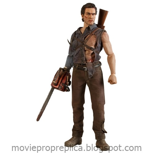 Evil Dead II: Dead by Dawn: Ash Williams 1/6th Scale Figure (Bruce Campbell)