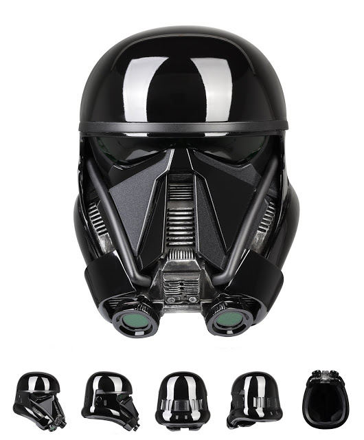 Star Wars: Rogue One: Death Trooper Helmet Prop Replica
