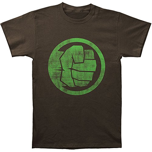 Marvel Incredible Hulk Fist Bump Adult T-shirt